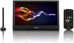 Lenco TFT-1038 - Draagbare televisie HD met DVB-T2 en AV-input - 10 Inch - Zwart