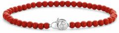 Ti Sento Milano TI SENTO-Milano 2908CR Armband kralen rood 19 cm