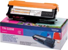 BROTHER TN-328 tonercartridge magenta extra high capacity 6.000 pagina s 1-pack