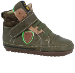 Shoesme Jongens babyschoen groen