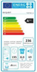 Exquisit TWP 801-3 Kondenswärmepumpentrockner 8 kg A++ Exquisit weiß