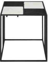 Witte Torna Design Lattice Bijzettafel - Zwart