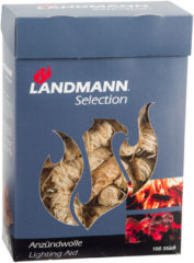 Landmann Aanmaakblokjes met wax houtwol 100 st 15103