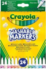 Crayola Washable Markers fineliner junior 24 delig