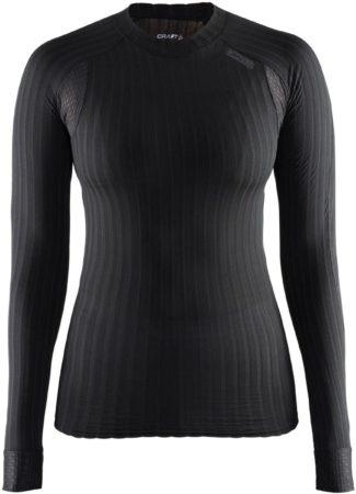 Afbeelding van Zwarte Craft Active Extreme 2.0 Cn Ls W 1904491 - Sportshirt - Black - Dames - Maat XS