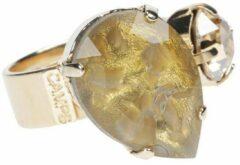 Goudkleurige CAMPS & CAMPS - ring - goudglans