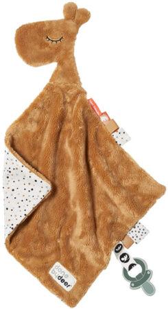 Afbeelding van Done by Deer Baby Accessoires Comfort Blanket Raffi Geel