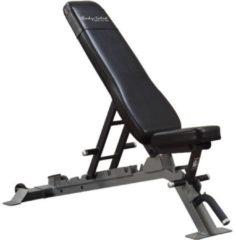 Zwarte Body-Solid Pro Club Line Flat/Incline/Decline Trainingsbank / Fitnessbank