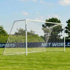 Witte Taktisport Junioren Trainingsgoal - voetbaldoel - 5m x 2m - aluminium