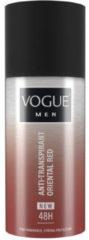 Vogue Men Oriental Red Deodorant Spray Anti-transpirant