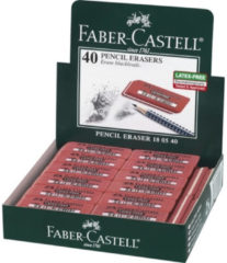 Gum Faber Castell 7005 rubber rood