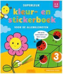 Deltas/Chantecler Superleuk kleur- en stickerboek voor de allerkleinsten 2-4 jaar
