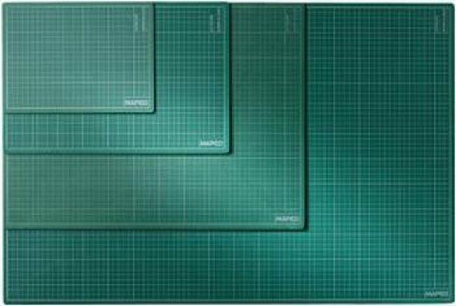 Afbeelding van Maped Office Snijmat A1 formaat (600 mm X 900 mm) - groen