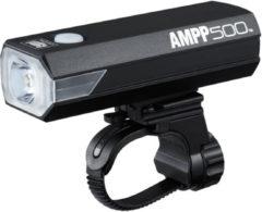 Cateye koplamp Ampp 500HL-EL085RC led usb oplaadbaar accu zwart
