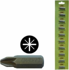 JBM Tools | M8 INBUSSLEUTEL MET DUBBELE PHILLIPS-BIT (PZ) #3 - VERCHROOMD