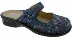 Blauwe Slippers Calzaturificio Loren LOM2709bl