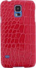 Xccess Croco Cover Samsung Galaxy S5/S5 Plus/S5 Neo Fuchsia - Xccess