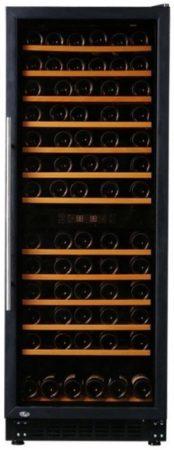 Afbeelding van Zwarte Exquisit GCWK 320 - Wijnkoelkast 270 Liter - 60(b) x 63(d) x 183(h) cm