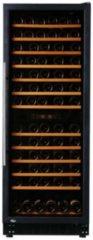 Zwarte Exquisit GCWK 320 - Wijnkoelkast 270 Liter - 60(b) x 63(d) x 183(h) cm