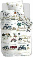 Beddinghouse Kids Farm Life Dekbedovertrek - Katoen - Peuter (120x150 Cm + 1 Sloop) - Multi