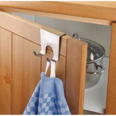 CT ComfortTrends Deurhaken RVS 5 x 4,5 x 4,9 cm. - Haken voor (kast)deuren