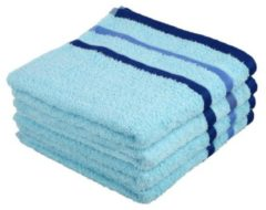 OPTISPLASH Handtuch, blau, 50 x 100 cm, 4er-Set