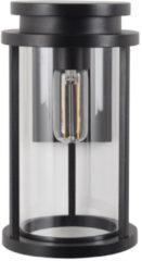 Zwarte Buiten Wandlamp - Sydney L - Aluminium - Zwart - KS Verlichting