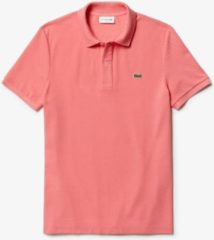 Roze Lacoste - Slim Fit Polo SS - Peach - Medium