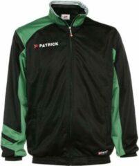 Patrick Victory Trainingsvest Polyester - Zwart / Groen   Maat: S