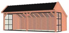 Van Kooten Tuin en Buitenleven Kapschuur De Stee 730x425 cm - Combinatie 1