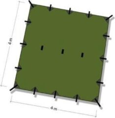 Groene DD Hammocks Tarp 4x4 – Olive Green
