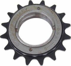 Zwarte Esjot Freewheel 16t 1/2 X 1/8 Inch