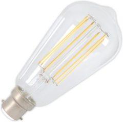 Transparante Calex Rustikalamp led filament helder 4,0w (vervangt 40w) bajonet fitting b22d