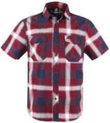 Brandit Roadstar Camicia rosso/bianco/blu