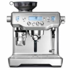 Sage The Oracle Espressomachine Zilver 2400 W Display, Met koffiemolen, Met melkopschuimer