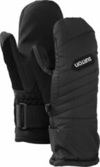 Zwarte Burton Support Mitt Kids Skihandschoenen - Black - Maat XL