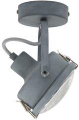 Selected by Satellite 1 plafondlamp/wandlamp metaal grijs