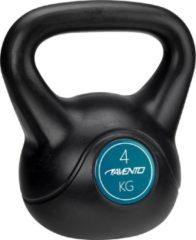 Avento Kettlebell - 4 kg - Zwart