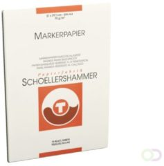 SCHOELLERSHAMMER Layout 14747 Markerblok A4 75 g/m² 210 x 297 mm Wit 75 Vel