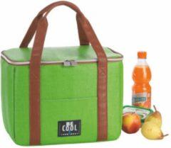 BE CooL CITY M Outdoor groen koeltas  Design   Premium   Strand   Beach   Coolingbag   13.5 ltr