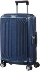 Samsonite Lite-Box Spinner 55 deep blue Harde Koffer