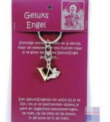 Steengoed Geluksengel Sleutelhanger V (1st)