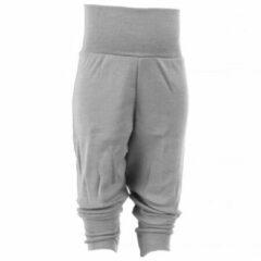 Grijze Engel - Baby Hose mit Nabelbund - Merino ondergoed maat 86 / 92 grijs