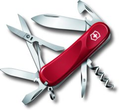 Rode Victorinox Evolution 2.3903.E Zwitsers zakmes Aantal functies: 14 Rood