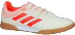 Beige Ecru/Oranje Sportschoenen adidas Copa 19.3 IN Sala Heren 42,5