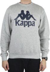 Kappa Sertum RN Sweatshirt 703797-18M, Mannen, Grijs, Sporttrui casual, maat: M EU
