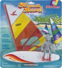 "Rode Surfplank "" Hawaii Board "" - Gunther - spelen op het water"