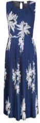 Kleid Alba Moda blau-weiß