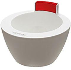 Comair - Verfbakje&Treatment Bowl - Wit/Rood - 350 ml