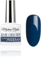 Blauwe Modena Nails Gellak Allure - Malachite 7,3ml.